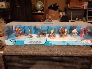 New Disney Store MARVEL Modern X-Men 7 Piece Figurine Playset for Sale in San Bernardino, CA