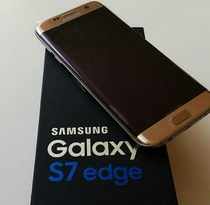 Samsung Galaxy S7 edge , UNLOCKED .  Excellent Condition  ( as like New) for Sale in West Springfield, VA