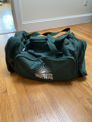 Green athletic duffle bag gymbag equipment for Sale in Washington, DC