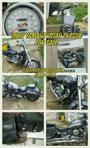 Motorcycle yamaha vstar cruiser for Sale in Baltimore, MD
