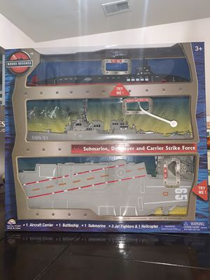 NAVAL DEFENSE SUBMARINE, DESTROYER AND CARRIER STRIKE FORCE (NEW!) for Sale in Washington, DC