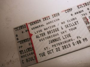 Alter Bridge & Skillet tickets for Sale in Tampa, FL