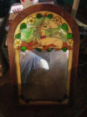 Unicorn Wall mirror for Sale in Porterville, CA