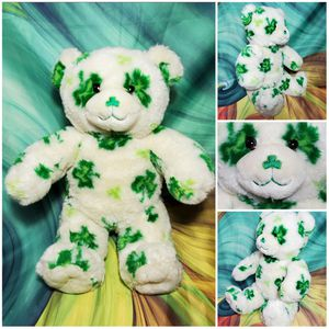 "Build a Bear St. Patricks Clover Shamrocks Teddy Irish BAB Stuffed Plush 15"" for Sale in Dale, TX"