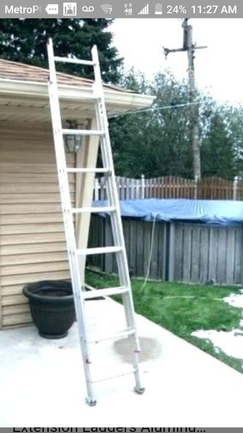 16 ft aluminum ladder