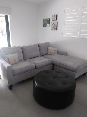 RTG pullout couch, arm chair and ottoman for Sale in Miami, FL
