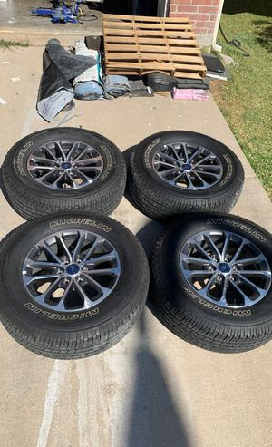 (2015-2019) Ford F-150 18 Inch Takeoff Wheels And Tires Set Package for Sale in Fort Worth, TX