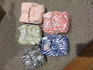Newborn pure and natural cloth diapers for Sale in San Francisco, CA