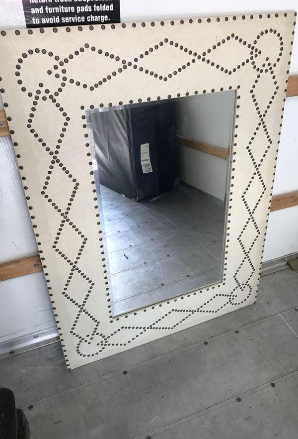 Pottery Barn Wall Mirror 3.5' x 2.5'