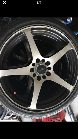 """Mb- 18"""" rims, and tires for Sale in Orlando, FL"""