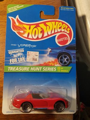 Hot Wheels 1996 Dodge Viper Treasure Hunt for Sale in Newburgh, IN