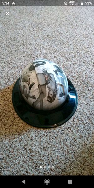 Custom hard hat pin up girls for Sale in Missoula, MT