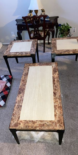 Coffe And End Tables for Sale in Raleigh, NC