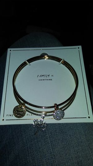 Silver plated family first bracelet for Sale in Oakley, CA