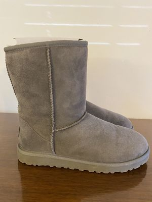 Uggs Boots- short grey for Sale in Stockton, CA