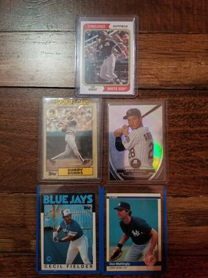 5 Card Baseball Rookie lot featuring 2020 Archives Luis Robert. for Sale in Lodi, CA