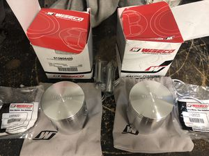 Yamaha Banshee 64mm Wiseco Pistons Kit Complete for Sale in Miami, FL