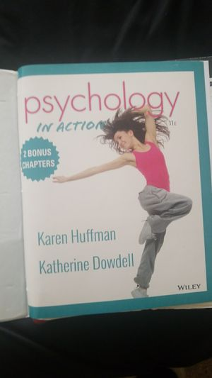 Psychology book for college students for Sale in Washington, DC