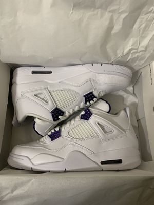 Jordan 4 metallic purple size 8.5 for Sale in Lorton, VA