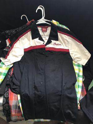 Indian Motorcycles button up shirt men's medium $10 for Sale in Phoenix, AZ