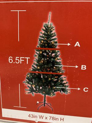 NEW 6.5 prelit Christmas tree for Sale in Glendale, CA