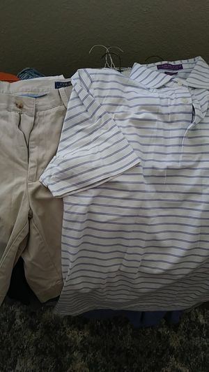 Tons of Mens Clothes - XL Golfing and Fishing for Sale in Austin, TX