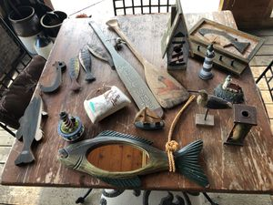 Nautical- fishing decorations for Sale in Commerce Charter Township, MI