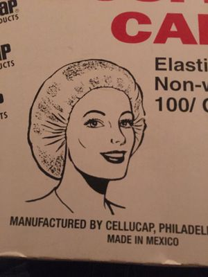 Bouffant caps 1 box 100 pcs.$15.00 for Sale in Victorville, CA