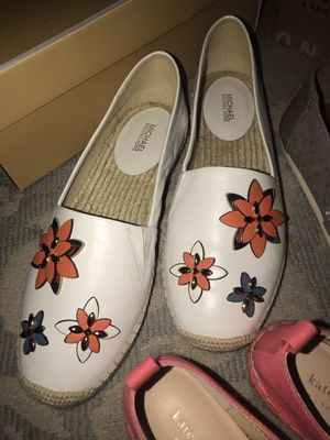 New size 9 Michael KORS woman's shoes flats for Sale in Upper Arlington, OH