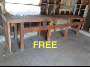 Free work table for Sale in Fresno, CA