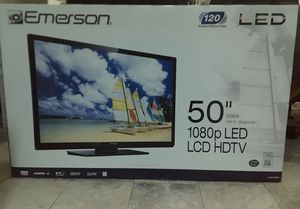 "Emerson 50"" inch tv LED HDTV for Sale in Houston, TX"