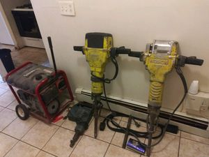 Bosch 2 electric jackhammers 1 drill and Generator 6.5 BS for Sale in The Bronx, NY