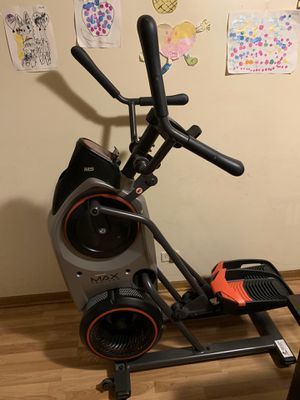 Bowflex max trainer m5 and bowflex exceed home gym for Sale in Blue Island, IL