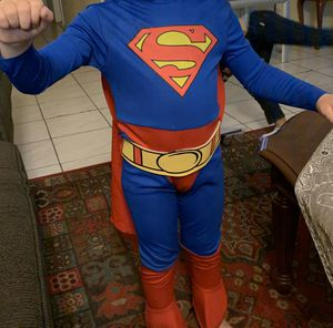 Superman hero costume for Sale in Alta Loma, CA