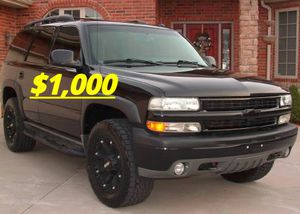 Full price$1OOO_2003 Chevrolet Tahoe Perfect Condition! for Sale in Richmond, VA