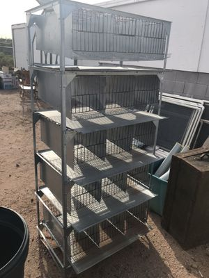 Quail cage with water troughs for Sale in Apache Junction, AZ