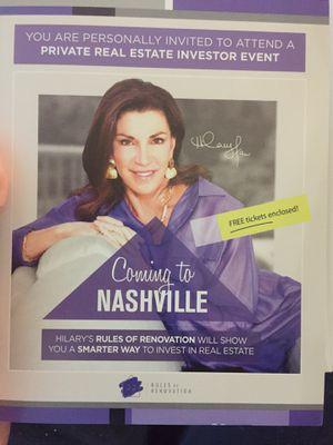 Tickets for Sale in Nashville, TN