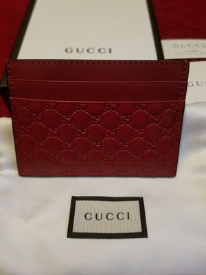 100% authentic Gucci Red Leather wallet for Sale in Phoenix, AZ