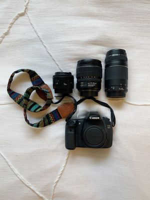 Canon EOS 60D DSLR Camera and Lenses for Sale in Miami, FL