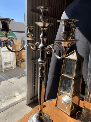 Candelabras silver price per each for Sale in Norco, CA