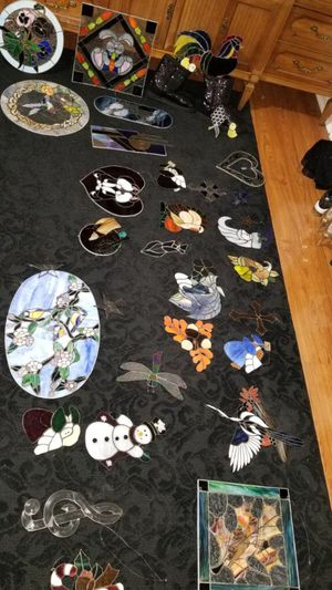 Assorted stained glass for Sale in Norfolk, VA