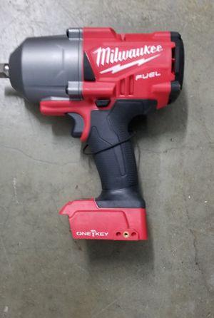 Milwaukee M18 Bluetooth ONE-KEY Impact Wrench New (TOOL ONLY) for Sale in Jersey City, NJ