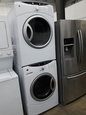 """27""""width GE front load washer and dryer set for Sale in Fort Washington, MD"""