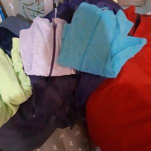 Bag Of Clothes With Jackets And Sweaters Zip Up (Sizes M-Large-XLarge) $15.00 Cash Only (Serious Buyers) for Sale in Dallas, TX