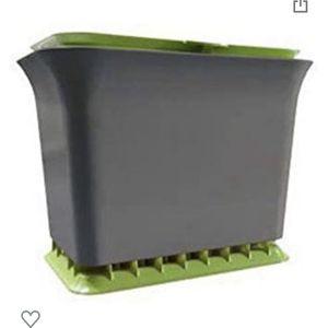 Full Circle Fresh Air Odor-Free Kitchen Compost Bin, Green Slate for Sale in Bellevue, WA