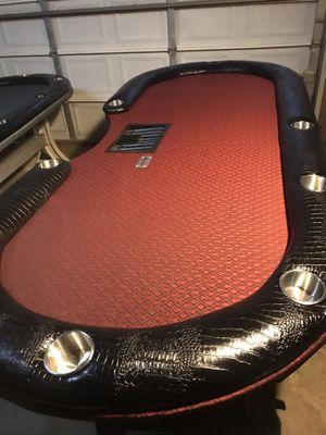 9ft poker table for Sale in Ellenwood, GA