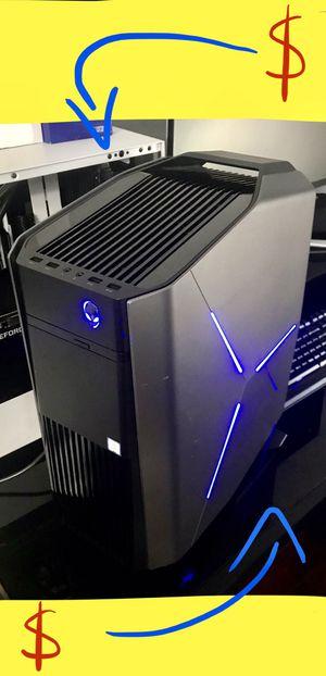 AlienWare Aurora R6 Gaming Desktop •32GB RAM• Liquid Cooled •i7 Processor for Sale in Los Angeles, CA