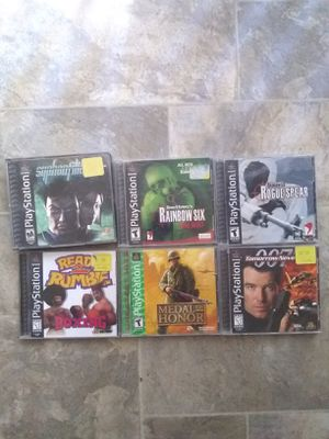 Ps1 Game's for Sale in Fresno, CA