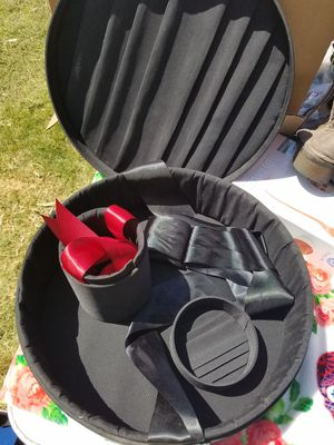 Round Black storage container for Sale in Whittier, CA