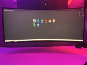 Alienware aw3418dw Gaming monitor for Sale in Woodbridge, VA